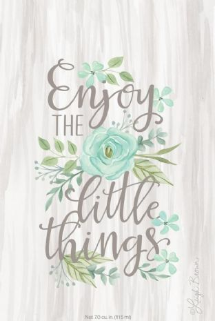 ENJOY THE LITTLE THINGS - WILLOWBROOK SCENTED SACHET